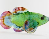 Glass Spirit Fish Fetish Water Animal Handmade Bead or Sculpture by Marcy Lamberson