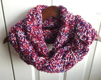 Red Hat Society Wave Infinity Scarf