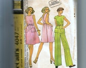 Vintage McCall's Misses' Dress or Top and Pants Pattern 4047