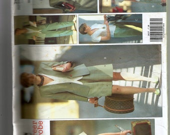 Vogue Misses' Jacket, Top, Skirt, Shorts and Pants Pattern 2637
