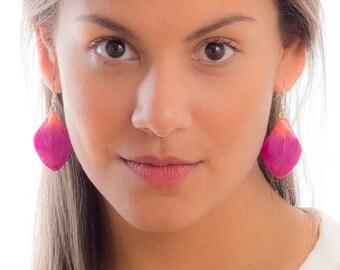 Hanami Orchid Petal Earrings