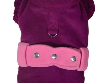 dog jacket warm winter coat hand tailored and crafted to the measurements of your pet to garanty a perfect fit . Other colors are possible