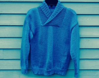 Boy, size 10/12, roll neck sweater.