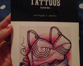 TATTOOS: Coloring Book