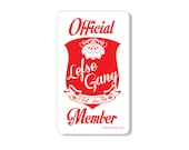 Lefse Gang Official Member Retro Kitchen Magnet