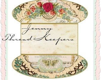 Jenny  /Lace or thread Keepers Digital Download