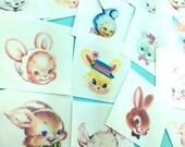 Bunny Stickers Set
