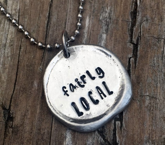 Fairly Local Personalized Necklace