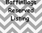 Custom Listing for ajswenson - 3 Fabric Storage Bins