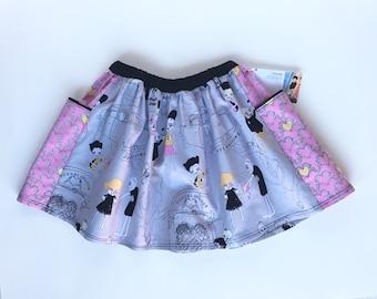 Girls' zombie skirt