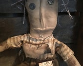 PreHalloweenSale Primitive Doll Sheep Lover- ready to ship