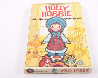 Vintage 1978 Holly Hobbie Colorforms Playset - Never Used  ~ The Pink Room ~ 160917
