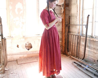 Edwardian Era Folk Costume Dress Size Small