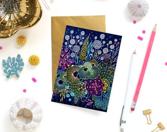Card - Note Card - Harvest