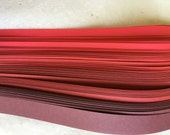 """3/8"""" Weaving Paper Strips~ Reds (100 strips)"""