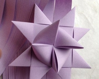 """1/2"""" Weaving Star Paper ~Orchid (50 strips)"""