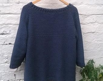 Crochet Pattern for Wren Sweater - DK Instant Download PDF