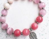 Gemstone Stretch Stacking Bracelet