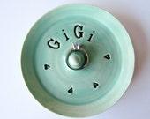 Gigi Ring Dish, READY TO SHIP, Gift for GiGi