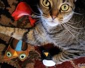 Set of 3 BIrdy Bird Catnip Toys for Kit Kats
