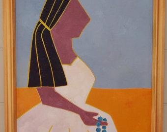 oil painting figure