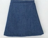 doll skirt denim