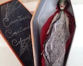 Countessa Costance Cobweb , vampire , doll , Dame Darcy , Halloween, fantasy , gothic , lolita