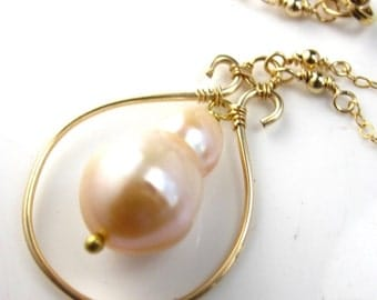 SALE My Pearl Necklace