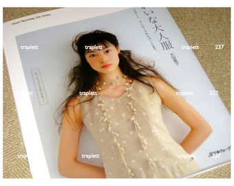 Japanese Sewing Book Women's Clothing