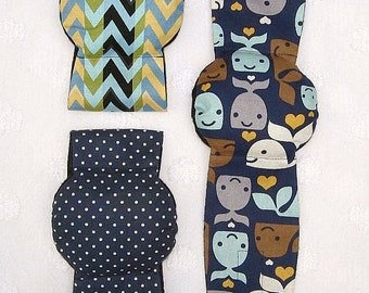 Male Dog  Belly Band Diapers Stop Marking many sizes set of 3 Whales Dots Chevron