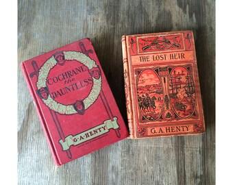 1900's Adventure Novels - G.A. Henty The Lost Heir - Cochrane the Dauntless