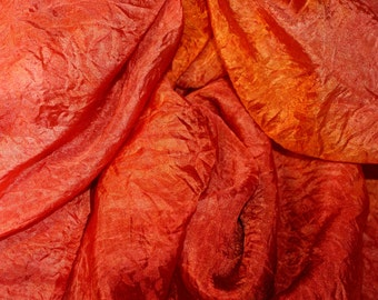 CLIVIA in  Hand Dyed Habotoi Silk  for Nuno Felting