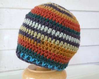 On Sale Multicolor Striped Newborn 0-3 month size Winter Baby Beanie
