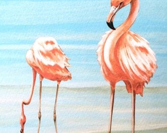 Flamingos on Vacation