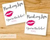 You're the Balm - Lip Gloss Valentine - Digital Valentine - Ready to Print