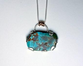 Handmade Turquoise pendant