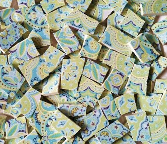 Mosaic Tiles-Paisley Teal-90Tiles