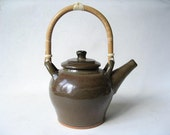 Teapot 5 Cup with Bamboo Handle