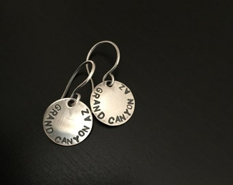 Grand Canyon Earrings in Sterling