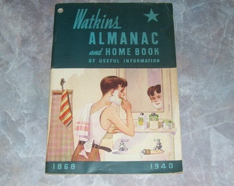 Watkins Alamanac and Home Book of Useful Information 1940