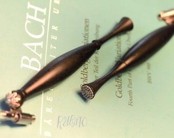 Bach - Rubato - Ebony Oblique Penholder