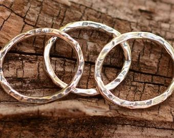 Artisan Organic Links in Sterling Silver L-200