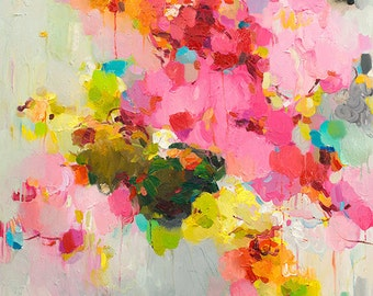 Giclee print, abstract art print, Fine Art Print Archival Matted giclee print