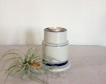 Vintage Dansk Candleholder,  Ceramic  Dansk Candleholder