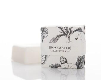 Rosewater Shea Butter Soap