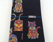 CLEARANCE SALE - Colorful Kitty Standard Wide Fabric Fauxdori  #2