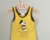 80s Mickey Mouse Tank Top Size 12- 24 months
