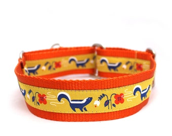 "1.5"" So Stinkin' Cute buckle or martingale dog collar"
