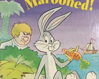 Bugs Bunny Marooned! A little Golden Book REDUCED