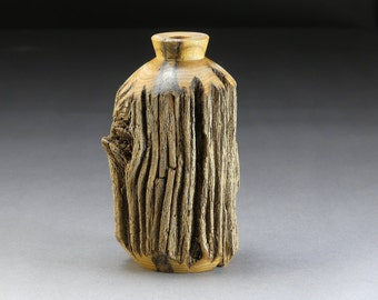 American Chestnut Weathered Vase
